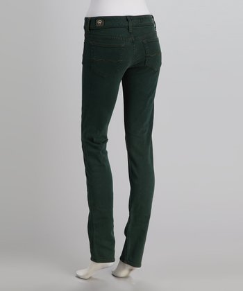 Red Engine Forest Cinder Slim Straight-Leg Jeans