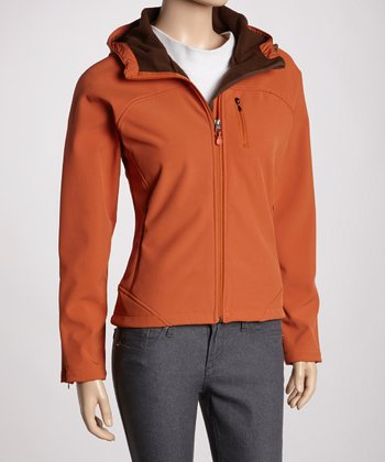 Spice Hooded Soft-Shell Jacket - Women