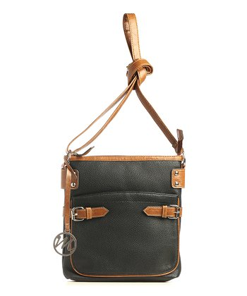 Black Pebble Gail Crossbody Bag