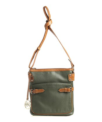 Pine Pebble Gail Crossbody Bag
