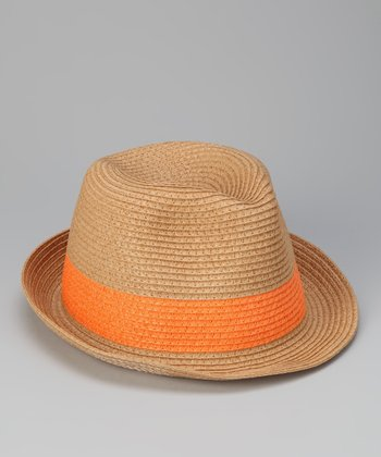 Orange Band Fedora