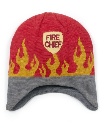 Red 'Fire Chief' Beanie