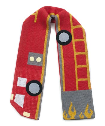 Red Firefighter Scarf