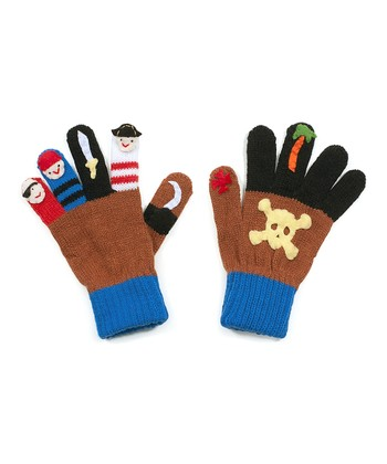 Brown Pirate Gloves