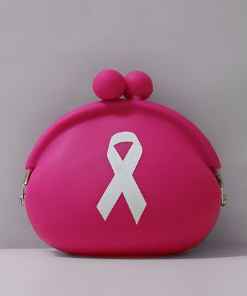 Pink Breast Cancer Awareness Coin Purse