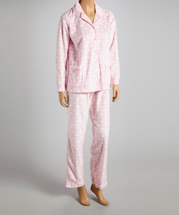Pink Hearts Simply Sweet Pajamas - Women