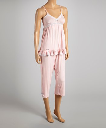 Pink Just for the Frills Pajamas - Women