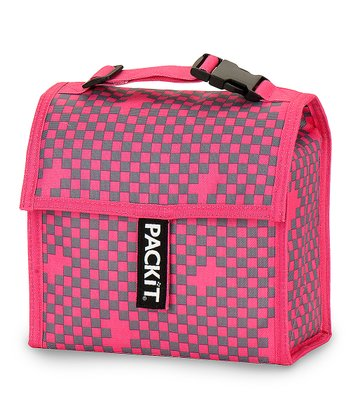 Pink & Gray Mini Cooler