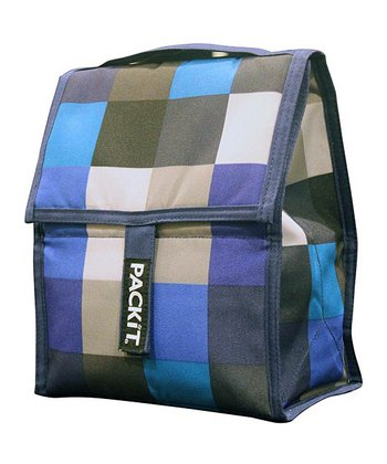 Boxy Blue Lunch Cooler