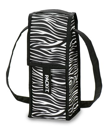 Zebra Single Wine Bag Cooler