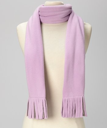 Purple & Gray Scarf