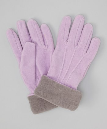 Purple & Gray Gloves