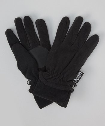 Black Stretch Gloves