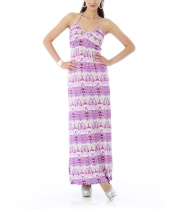Orchid Mint Maxi Dress
