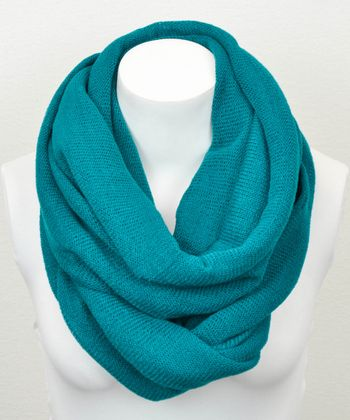 Leto Collection Teal Infinity Scarf