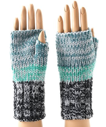 Mint Zoey Fingerless Gloves