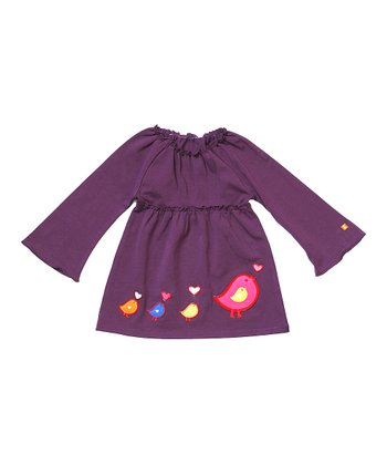 Purple gTweet Dress - Infant & Toddler