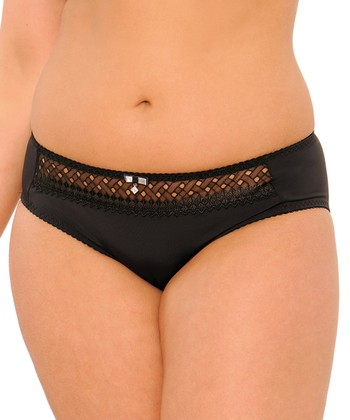 Black Gia Bikini Briefs - Women & Plus