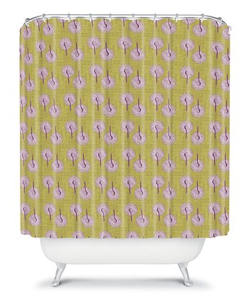 Caroline Okun Aspergillus Shower Curtain