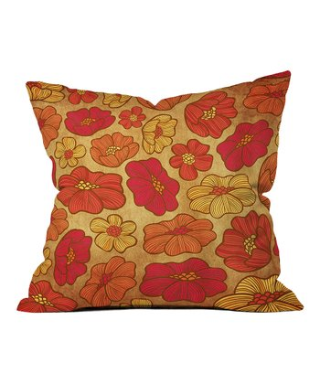 Arcturus Embers Throw Pillow