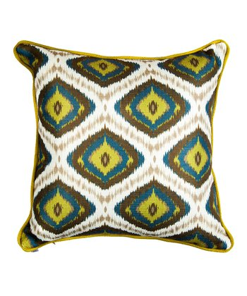 Green Flint Accent Pillow