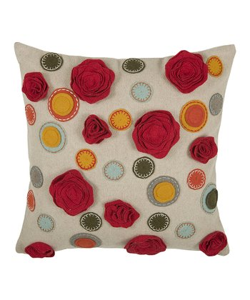 Spa Pattern Throw Pillow