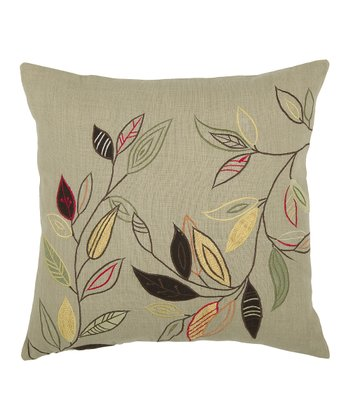 Sage Leaf Throw Pillow