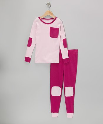 Pink Pocket Pajama Set - Infant, Toddler & Girls
