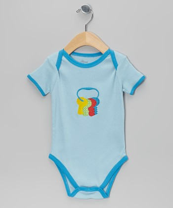 Blue Key Bodysuit - Infant