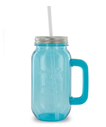 Blue 24-Oz. Mason Jar