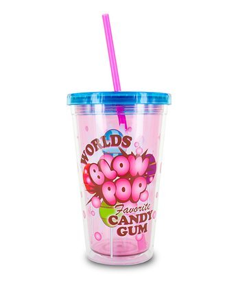 Pink Blow Pop Frap Cup