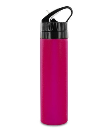 Pink 18-Oz. Squeeze Silicone Bottle