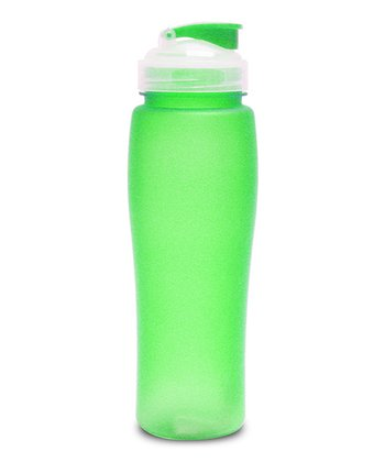 Green 24-Oz. Soft-Touch Water Bottle
