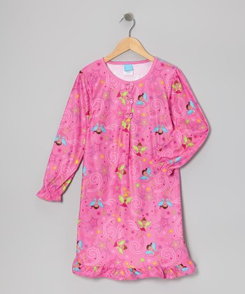 Pink Fairy Nightgown - Toddler