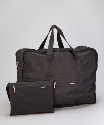 Black Large Bagg-In-A-Pouch