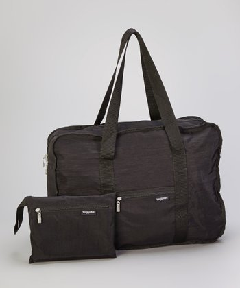 Black Medium Bagg-In-A-Pouch