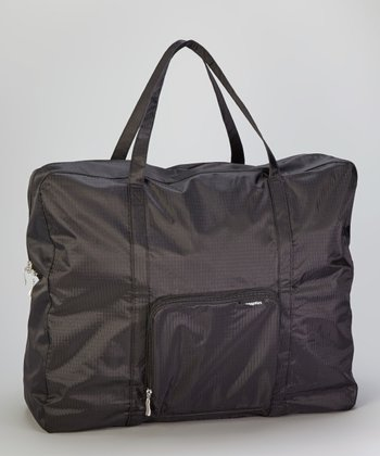 Black Zip-Out Shopping Tote