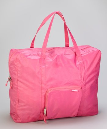 Pink Zip-Out Shopping Tote