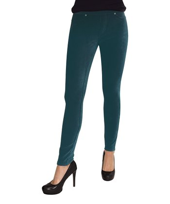 Bayberry Thin Ribbed Corduroy Leggings