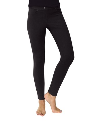 Black Chino Leggings