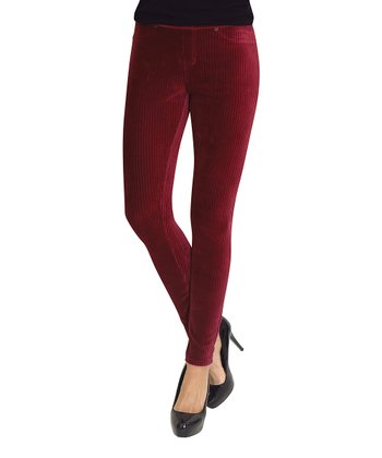 Cabernet Wide Rib Corduroy Leggings