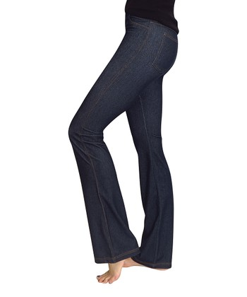 Blue Denim Bootcut Jeggings