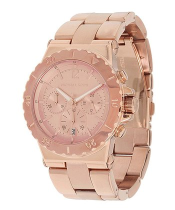 Rose Gold Classic Chronograph Watch