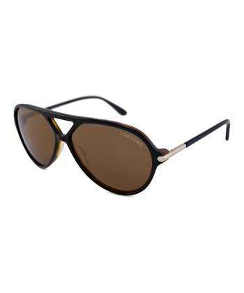 Black Havana Leopold Sunglasses