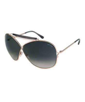 Gold Catherine Sunglasses