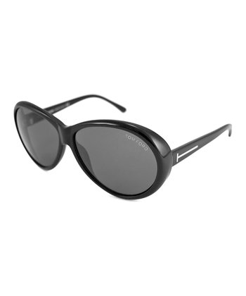 Black Gray Geraldine Sunglasses