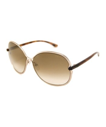 Gold Leilia Sunglasses