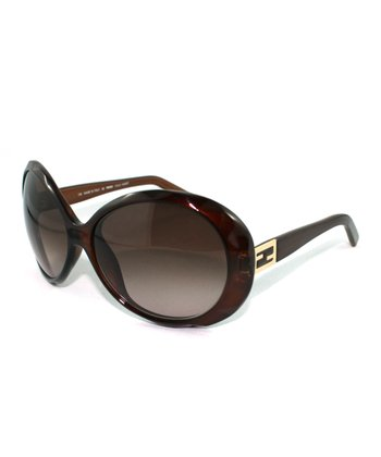 Chestnut Bug-Eye Sunglasses