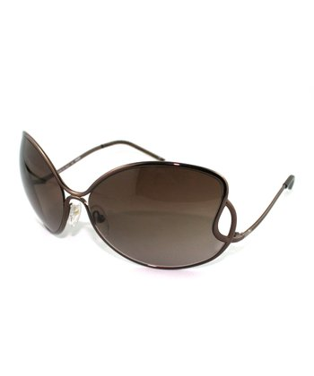 Bronze Entwined Butterfly Sunglasses