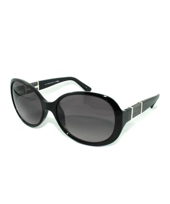 Black Bug-Eye Sunglasses